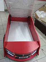Кровать машина БМВ красная, фото 3