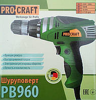 Мережевий шуруповерт ProCraft Pb-960