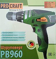 Cетевой шуруповерт ProCraft Pb-960