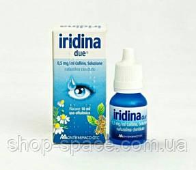 Отбеливающие капли для глаз Iridina Due, 330 грн.