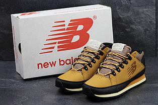 Мужские кроссовки New Balance 754,кожаные,рыжие 41р