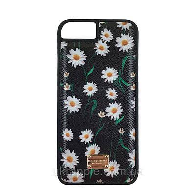 Чехол накладка для iPhone 7/8 Dolce Gabbana с табличкой ромашки