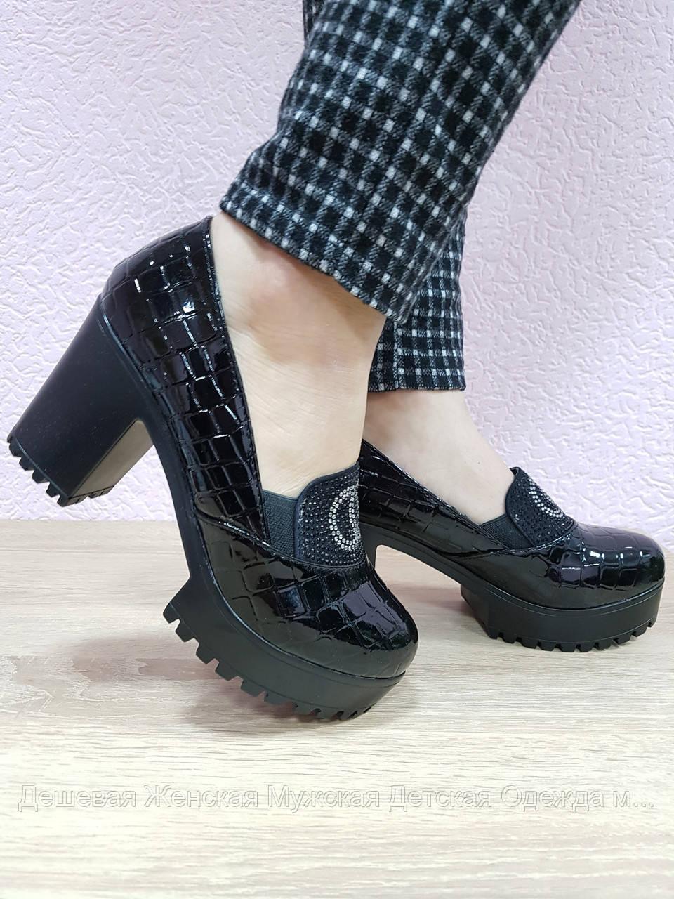 Туфлі жіночі. В ящику 6 пар. Розміри 36-40. Повтор 38