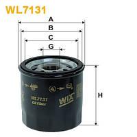 Geely CK / CK-2 Фильтр масляный WIX
