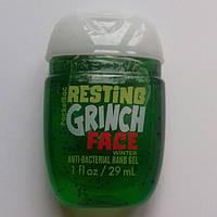 Антибактериальный гель (санитайзер) Bath&Body Works Resting Grinch Face