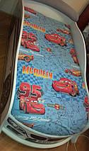 Ліжко машина БМВ біла, фото 2