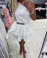 Платье Летнее Мини Котон Paparazzi На одно плечо