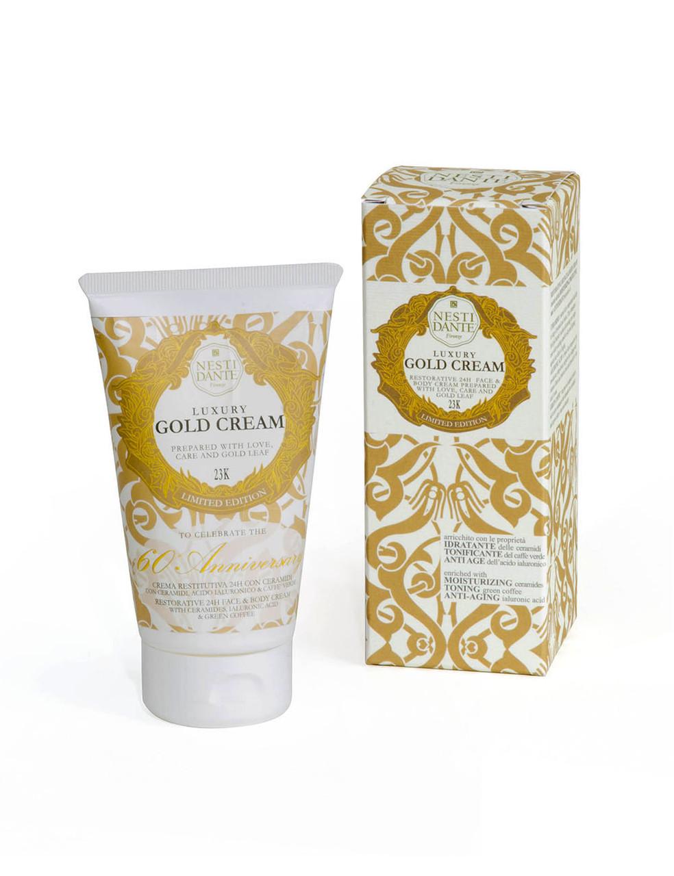 Крем Nesti Dante Gold Cream Золотой Восстанавливающий 150г