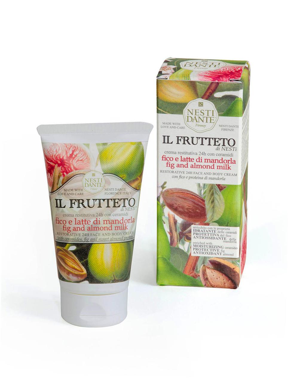 Крем Nesti Dante увлажняющий Il Frutteto Fico, Latte di Mandorla Инжир и Миндальное молочко 150г