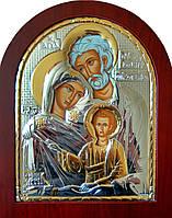 "Икона серебряная ""Святая Семя"" 200х250мм (Греция)"