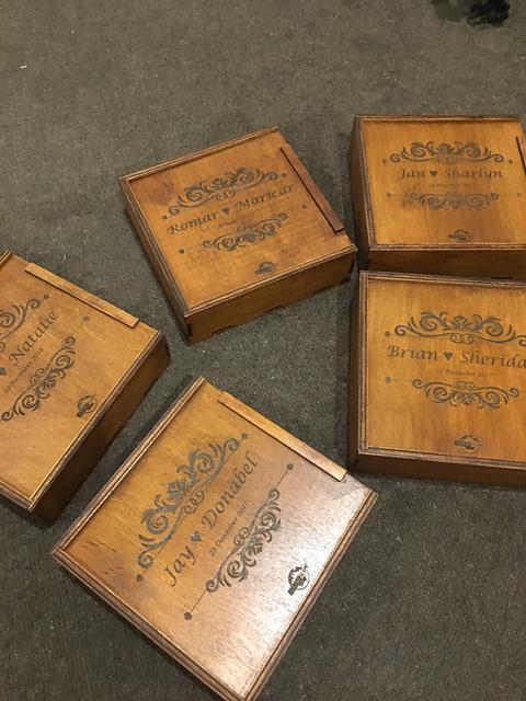 Коробки для фотоальбомов, фотографий, USB флешек