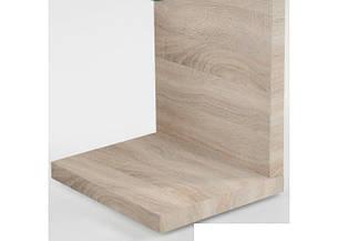 Журнальный столик консоль из дсп со стеклом  11 дсп, фото 2