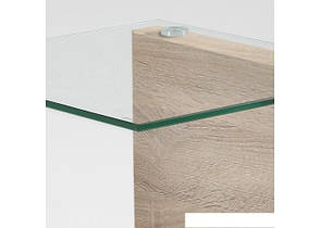Журнальный столик консоль из дсп со стеклом  11 дсп, фото 3