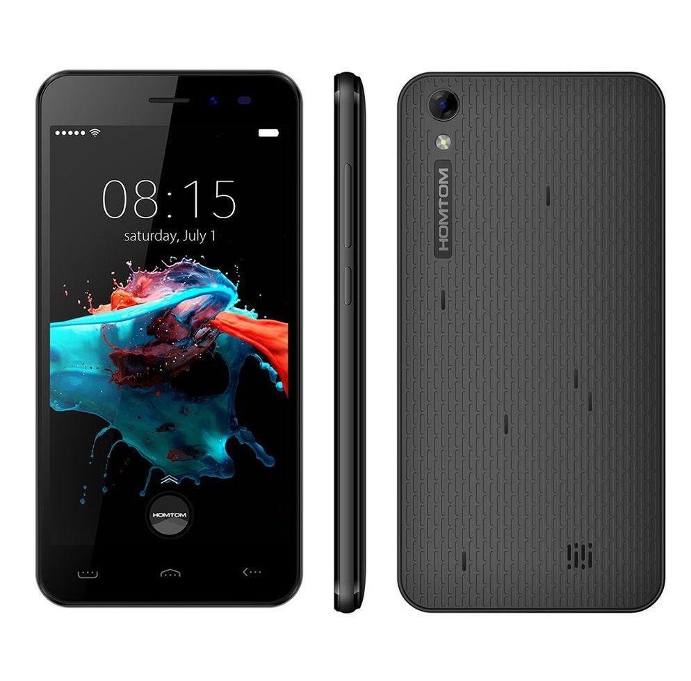 Смартфон Homtom Ht16,  5.0 дюймов, 2 sim, android 6.0, mt6580