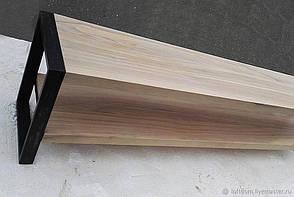 Журнальный столик консоль из дсп со стеклом  12 дсп, фото 2