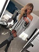 Платье женское-Туника Теплое Paparazzi Длинный рукав