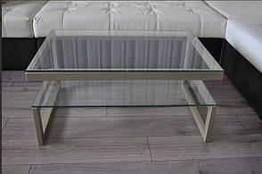 Журнальный столик консоль  со стеклом  13 дсп, фото 3