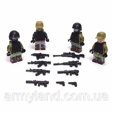 Пак Русских солдат военный конструктор, фото 2