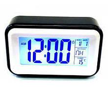 Часы будильник At-608 с подсветкой