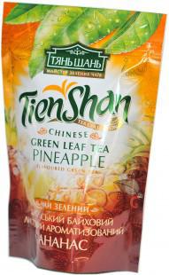 Чай зеленый китайский байховый с ананасом  Тянь Шань , 80 гр