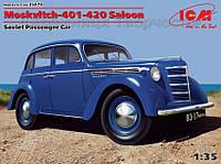 Отечественный пассажирский автомобиль Москвич-401-420 седан (ICM35479), фото 1