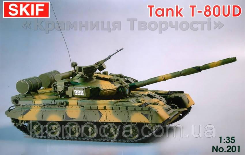 """Cоветский боевой танк T-80-УД """"Береза"""" (MK201)"""