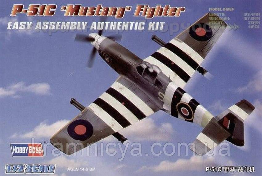 Масштабная модель самолета P-51C Mustang (HB80243)