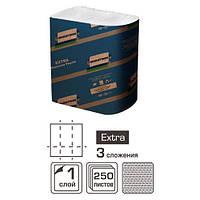 Салфетки диспенсерные Extra 250 шт. (18 уп/ящ) Селпак