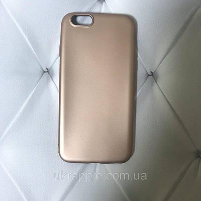 Чехол накладка на iPhone 6/6s Soft matt  розовый