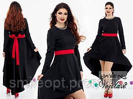 Женское платье с поясом (P100)