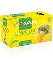 Чай Alokozay черный с лимоном пакетированый в конверте (25 Lemon Tea Bags)