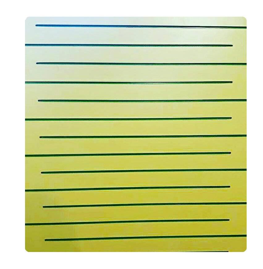 Экономпанель ( Экспопанель ) Желтая  1800х1220мм, без вставок