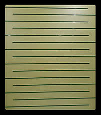 Экономпанель ( Экспопанель ) Желтая  1800х1220мм, без вставок, фото 2