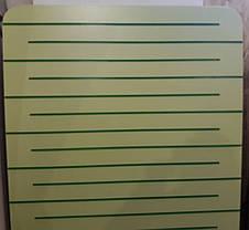 Экономпанель ( Экспопанель ) Желтая  1800х1220мм, без вставок, фото 3