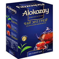Чай Alokozay черный с бергамотом листовой (100 gm Earl Grey Tea)