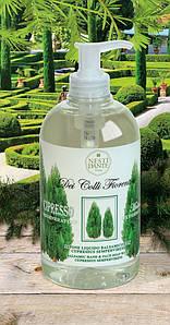 Жидкое мыло для лица и рук Nesti Dante Cypress Кипарис 500мл