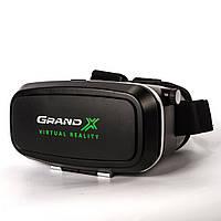 Очки виртуальной реальности Grand-X, Black (GRXVR06B)