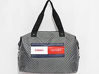 Сумка спорт Tommy Hilfiger цвет серый