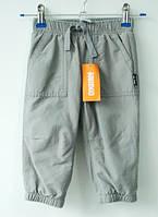Спортивные штаны теплые Gymboree для мальчика 12-18, 18-24 месяцев, 2 года серые