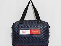 Сумка спорт Tommy Hilfiger цвет темно-синий
