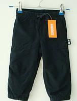 Спортивные штаны теплые Gymboree для мальчика 12-18, 18-24 месяцев, 2 года темно-синее