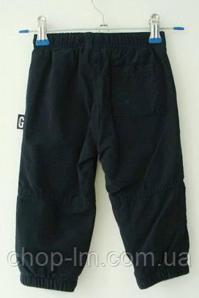 Спортивные штаны теплые Gymboree для мальчика 12-18, 18-24 месяцев темно-синее, фото 2