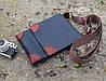 Сумка мужская на ремне - синяя (283006)