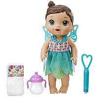 Кукла пупс Baby Alive Малышка Фея брюнетка