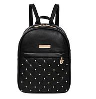 Рюкзак черный женский код 3-337