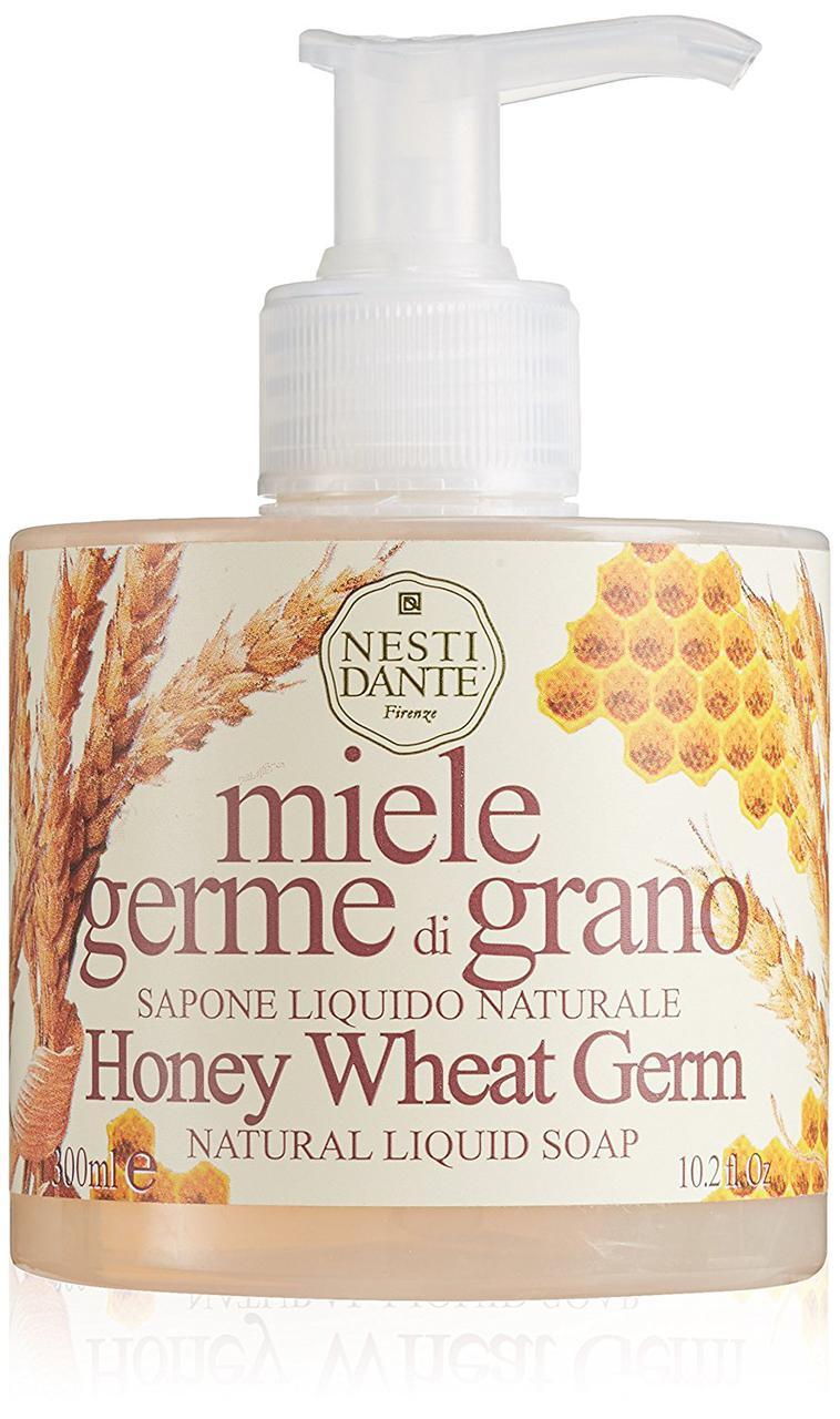 Безсульфатное жидкое мыло Nesti Dante Honey Wheat Germ Мед и Пшеница 300мл