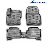 3D коврики в салон Ford Kuga, 2013->, 4 шт. (полиуретан)