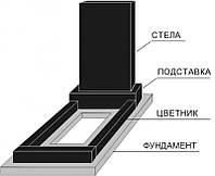 Установка и крепление памятника из гранита и мрамора