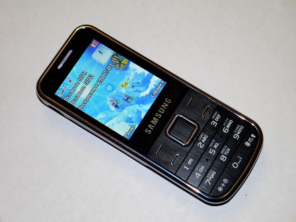 """Телефон Samsung С3530 - 2 sim - 2,2"""" - Fm - Bt - Camera"""