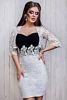 Вечернее платье с болеро 3677 Волох
